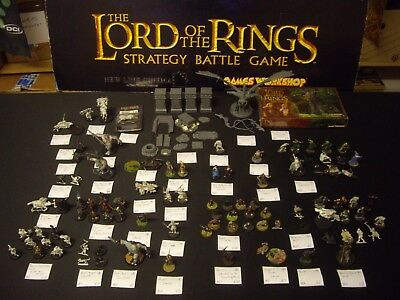 Warhammer: Lord of the Rings Mega multilisting Metal OOP etc LOTR #A11