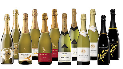 Sparkling Wine Mixed Case Summer BBQ Mixed-12 Pack Free Shipping 5-Star Winery