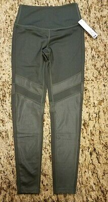 64b135182c6f9 NWT NEW SPLITS59 SPLITS 59 Bandier Nordstrom Colorblock Leggings Green XS  XSmall