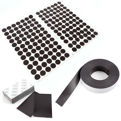 Magnet Sheets with Adhesive Front Layer for Home Office Magnetic