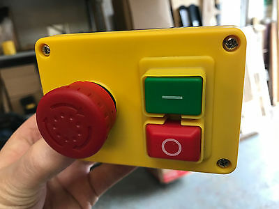 A NVR (No Volt Release) Stop/Start & Emergency Stop Switch
