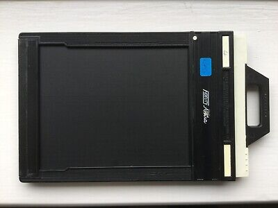 "2 x Fidelity Astra double darkslide 4x5"" film holders - large format 5x4"""