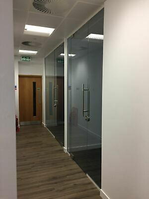 New- Glass Partition Doors, 10mm Toughened Glass Doors, Trade