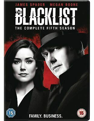 The Blacklist Season 5 [DVD] Brand New and Sealed Fast Free Delivery