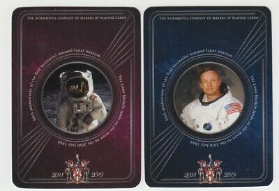Playing Swap Cards  GENUINE 2 only single  WORSHIPFUL 2019  Anniversary Man Moon
