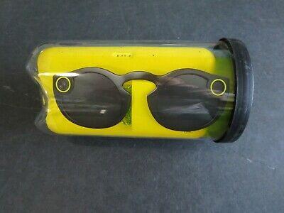 Snapchat Spectacles Camera Glasses 1st Gen, w/ charging case, cable, & package