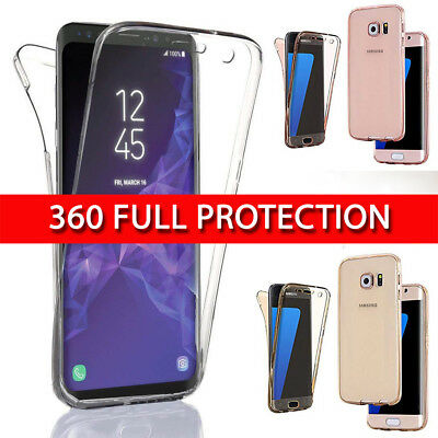 Case for Samsung Galaxy A5 2017 360 Shockproof Protective Silicone TPU Gel Cove