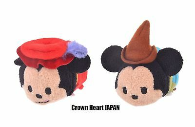 New Disney Store Japan 2 TSUM TSUM Mickey 90th Film Collection Prince & Pauper