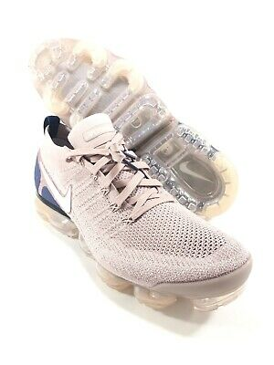 Nike Air Vapormax Flyknit 2 Running Shoes Diffused Taupe Blue Size 13 942842-201