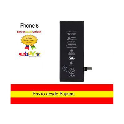 "Bateria Original de Fabrica para Apple Iphone 6 4,7"" APN 616-0809 1810mAh"