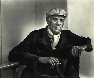 1949 1967 Georges Braque Artist Yousuf Karsh Portrait Art Photo Photogravure