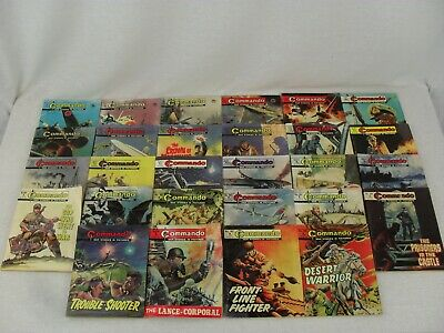 Commando Comics x 28 Range 712-999 1972-1976