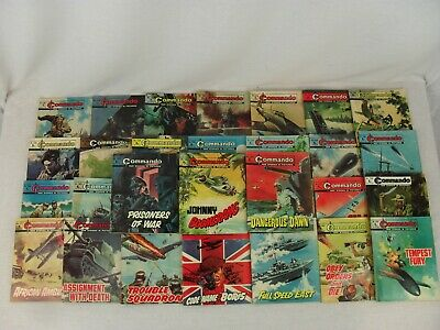 Commando Comics x 31 Issues 1001-1099 1976-77