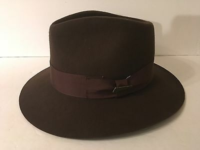 16 COLLECTION MENS Fedora Wool Hats Lot Medium Outback Trading ... dc4ea5d72dd