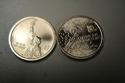 2018 D & P  Bu New American Innovation $1 Coins *here Now Immediate Shippng*