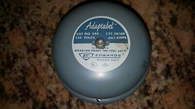 Edwards 340 Adaptabel 120V 50-60 Hz .062 Amps