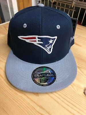 New England patriots SnapBack Blue And Gray Baseball Hat