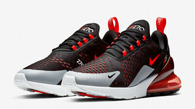 NIKE AIR MAX 270 AH8050-015 Black Bright Crimson sz 9-13 -  119.60 ... ec1f0931c450