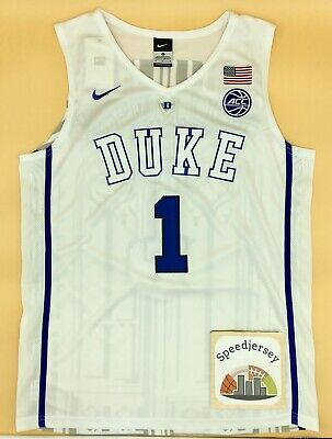 Maillot Zion Williamson Duke Blanc M Speedjersey