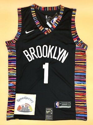 Maillot NBA Brooklyn Nets City Russell  M Speedjersey