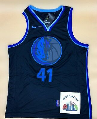 Maillot Dallas City 2019 Dirk Nowitzki L Speedjersey