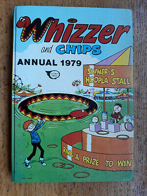 Vintage WHIZZER & AND CHIPS ANNUAL 1979. Very Good Condition