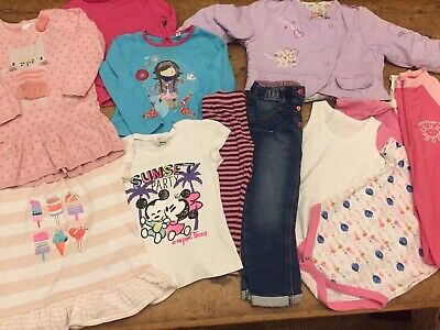 Girl 18-24 Month Clothes Bundle With Swimsuit (1)