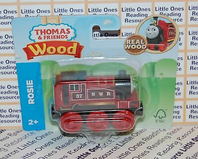 Thomas & Friends Wood Wooden ROSIE Train FULLY PAINTED Fisher Price GGG34 *2019*