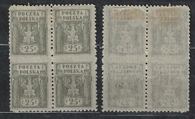 Poland Fischer # 89  For Northern  Poland Issue .perfor Error , Missing Perfor.