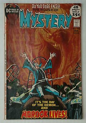 HOUSE OF MYSTERY 198 | Nick Cardy interior art & cover | DC 1972 | 52 pages | VG