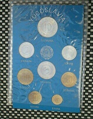 Yugoslavia Coin Set