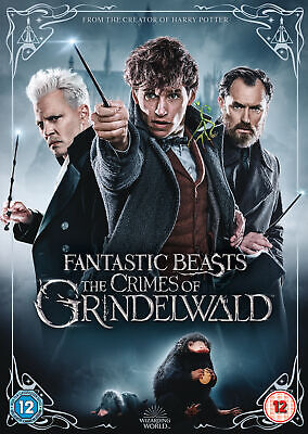 Fantastic Beasts 2 The Crimes of Grindelwald (DVD) Harry Potter / JK Rowling