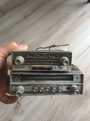 Anciens Postes Autoradios Philips Voiture Ancienne Collection Brocante
