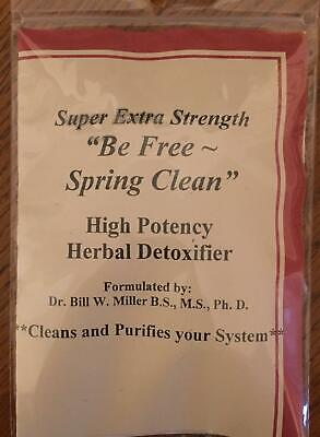 Dr Millers YouTHIN™ Tea Be Free- Spring Clean Herbal Detoxifier - FREE S/H WOW!