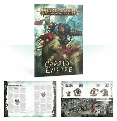 Carrion Empire 40 page full colour book and tokens: Age of Sigmar