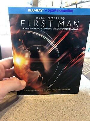 First Man Blu-ray Only (no Dvd, No Digital)