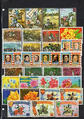 Guinea Equatorial very nice mixed pictorial collection,stamps as per scan(5478)