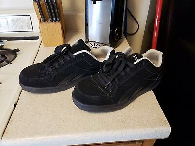 a820ccadc19d12 Reebok Soyay Men s Black Steel Toe Classic Oxford Work Shoes Safety US 10.5  W