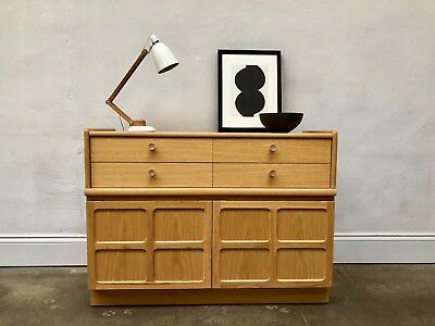 Vintage 1970s Nathan Oak Sideboard. Circles Danish Retro. G Plan. DELIVERY