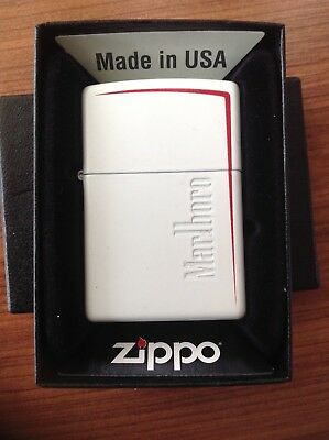 Limited Edition SLOVAKIA 2015 ZIPPO White / Red Marlboro lighter