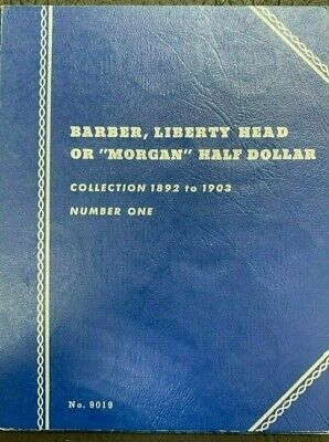 1892 to 1905 Barber, Liberty Half dollar Coin Collection NUMBER ONE -13Coins