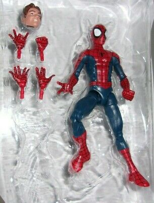 Marvel Legends Spider-man Peter Parker from space venom baf set silk hobgoblin