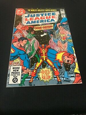Justice League of America 192 VF/NM Origin Red Tornado
