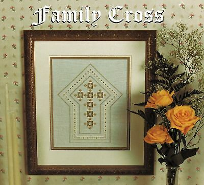 Terry Capps The Family Cross Framed Piece Bookmark Hardanger Embroidery Patterns