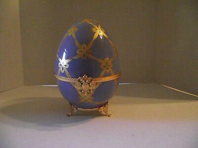 Faberge Large Imperial Swan Egg Limited Edition Number 63