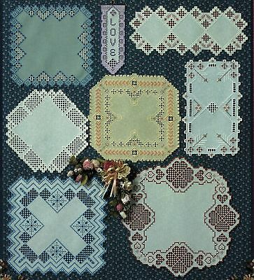 Tribute to Hardanger Embroidery Bellpull Round Square Doily Runner Patterns