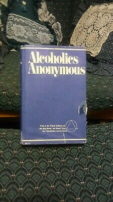 ALCOHOLICS ANONYMOUS AA big book 3rd Edition 39th printing 1990