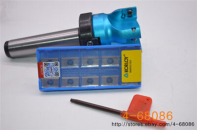 Al 400R-100-22-6F 10× APKT1604PDFR-MA3 H01 CNC Indexable Face End Mill Cutter