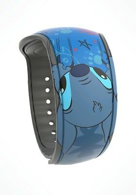 NEW Disney Park Stitch Wuz Here Magic Band 2 Blue 2018 Link It Later