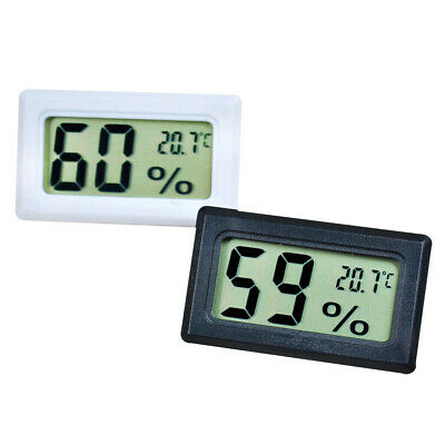 2019 Mini Digital LCD Indoor  Hygrometer Temperature Humidity Meter Thermometer